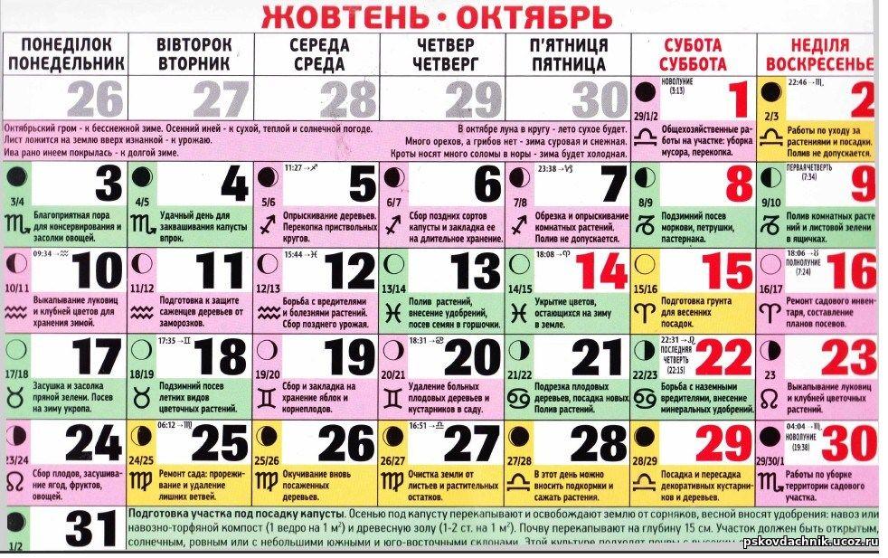 лунный календарь стрижек на октябрь 2016г Форум дольщиков