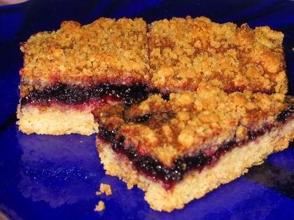 тертый пирог с джемом рецепт с фото